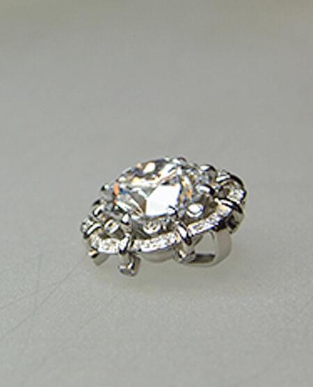 プラチナダイヤペンダントメレーダイヤ